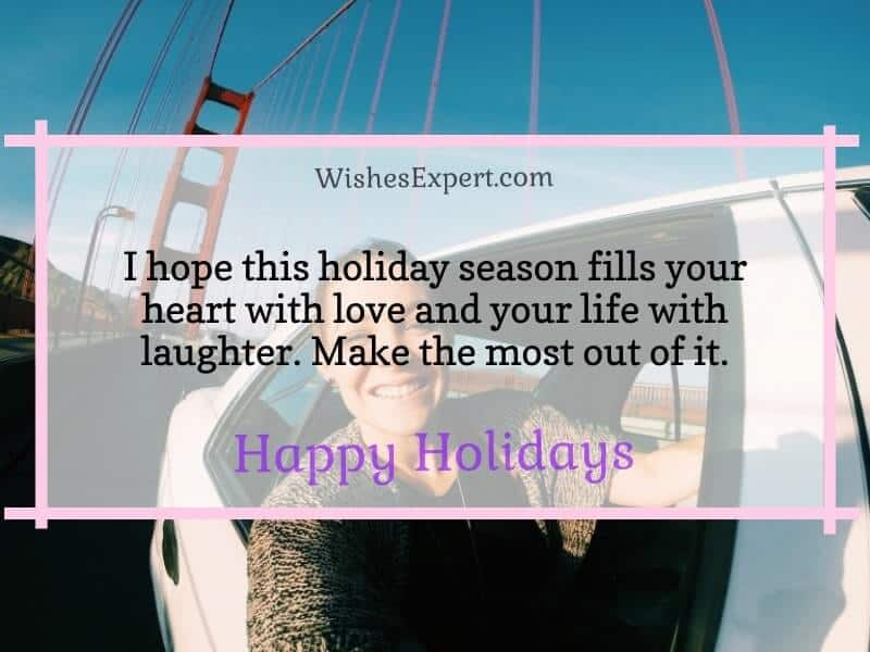 Best Happy Holiday Message