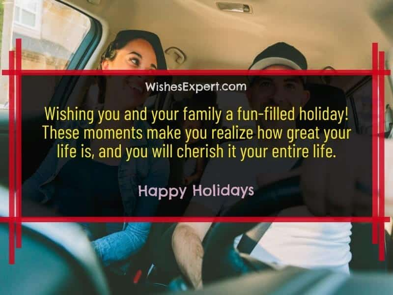 Message for Holiday