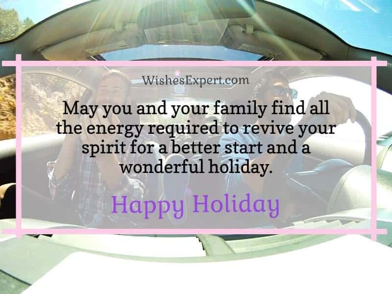 Wishes for Holiday