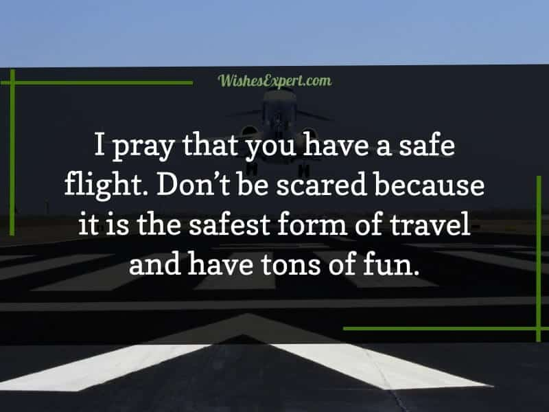 Safe Flight Quotes