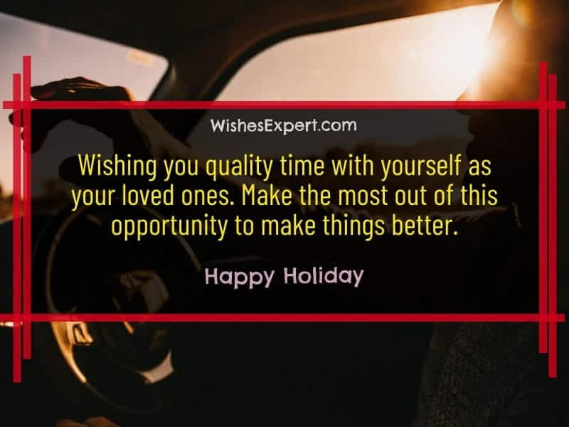Happy Holiday Wishes Quotes