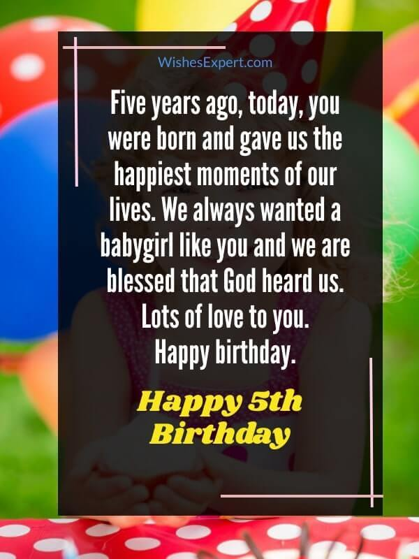 happy-5th-birthday-wishes-for-girl
