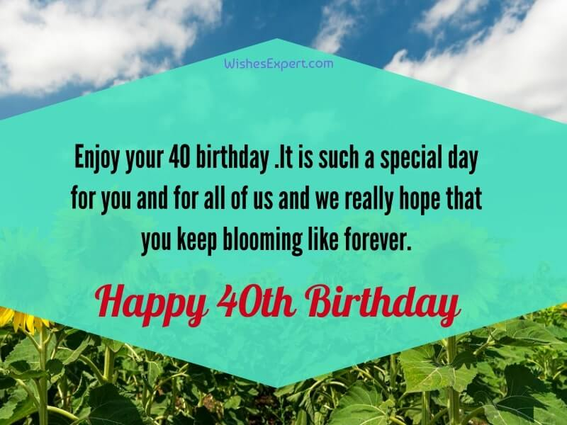 40th-Birthday-Quotes