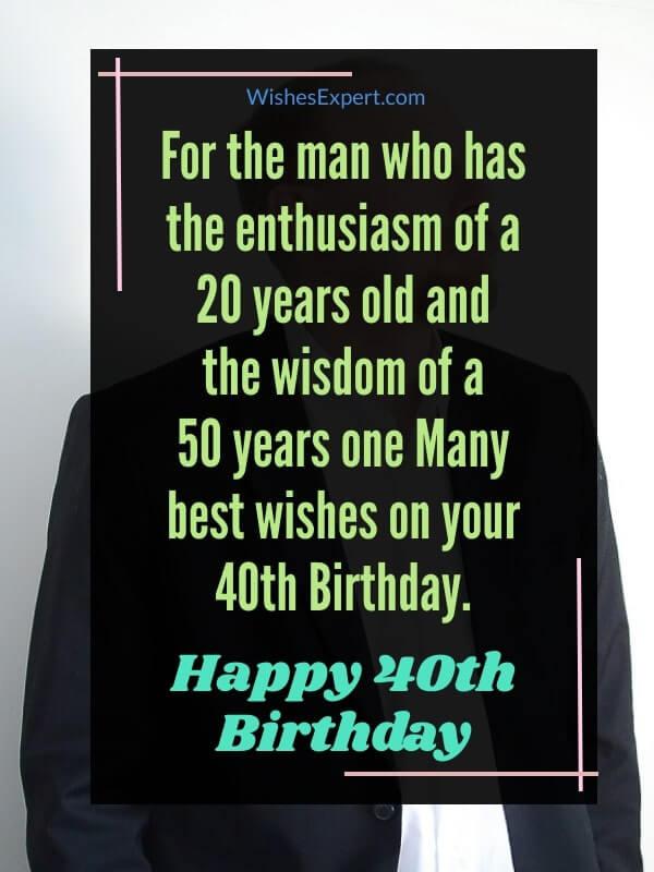 40th-Birthday-Wishes