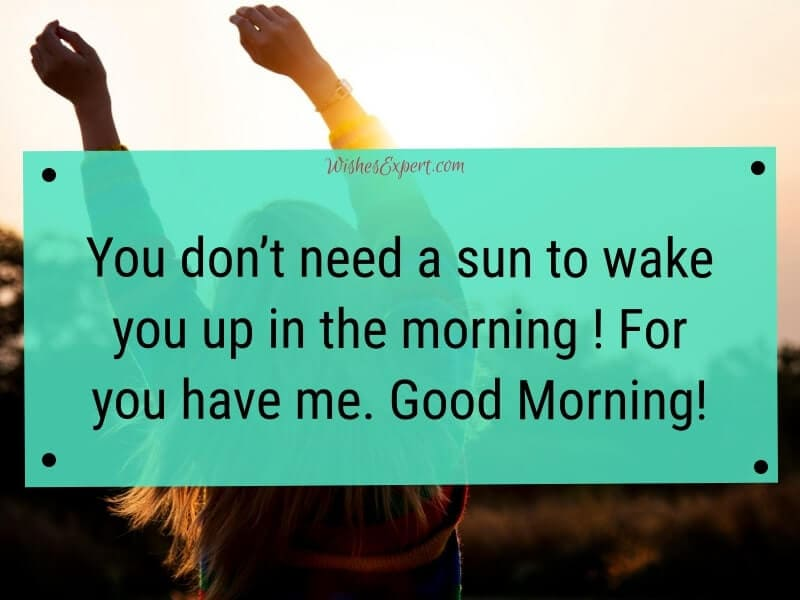Good morning text to a Friend