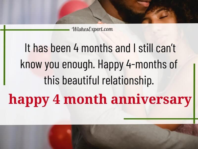 Happy 4 Months
