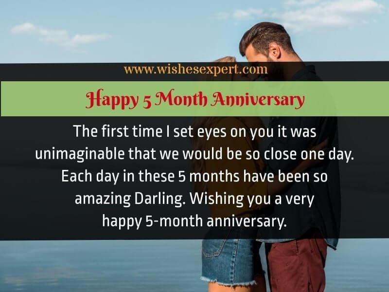 Happy 5 month Anniversary