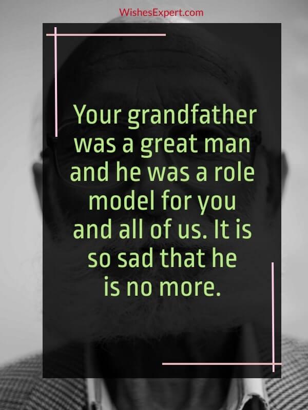 Losing a grandparent quote