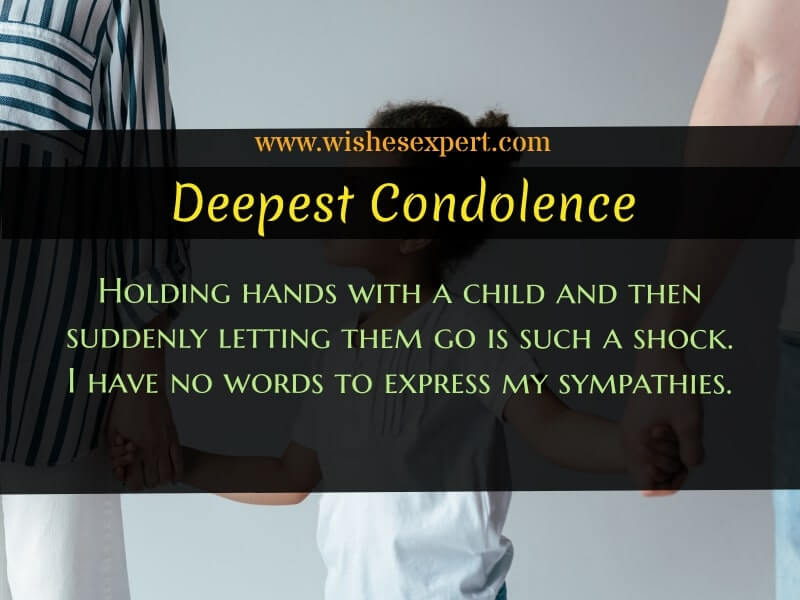 Words Of Comfort for Loss of a Child