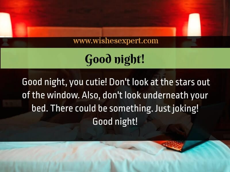 funny good night quotes