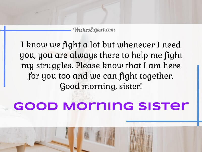 good-morning-sister-With-images