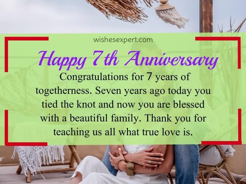 happy 7th anniversary