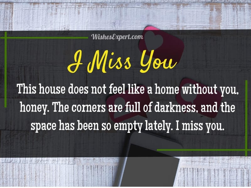 I Miss You Text For Her