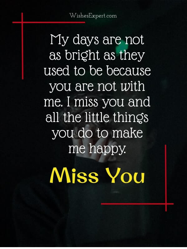 Missing My Girlfriend Quotes