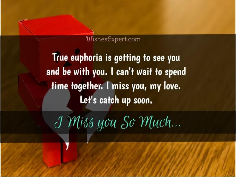 Romantic Miss You Quotes For Her
